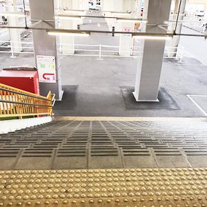 2.階段を降りる
